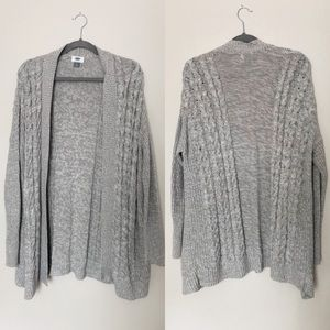 Old Navy large sweater cardigan